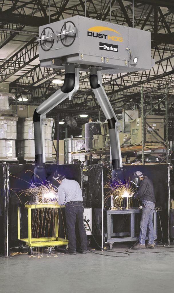 welding fume collectors